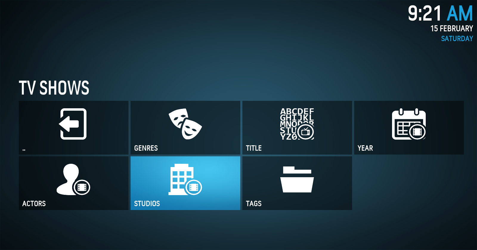 Kodi/XBMC skin: BOX by DjCisco