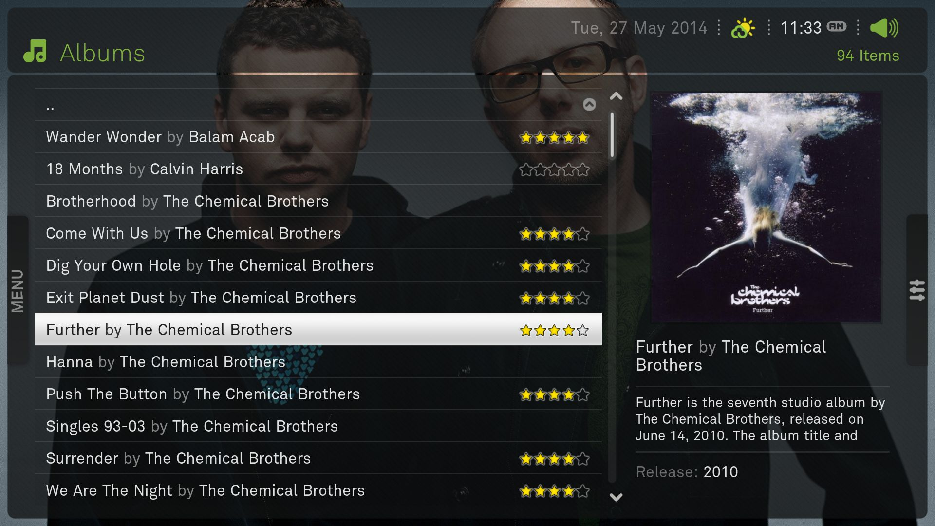 Kodi/XBMC skin: XeeBo by Hitcher