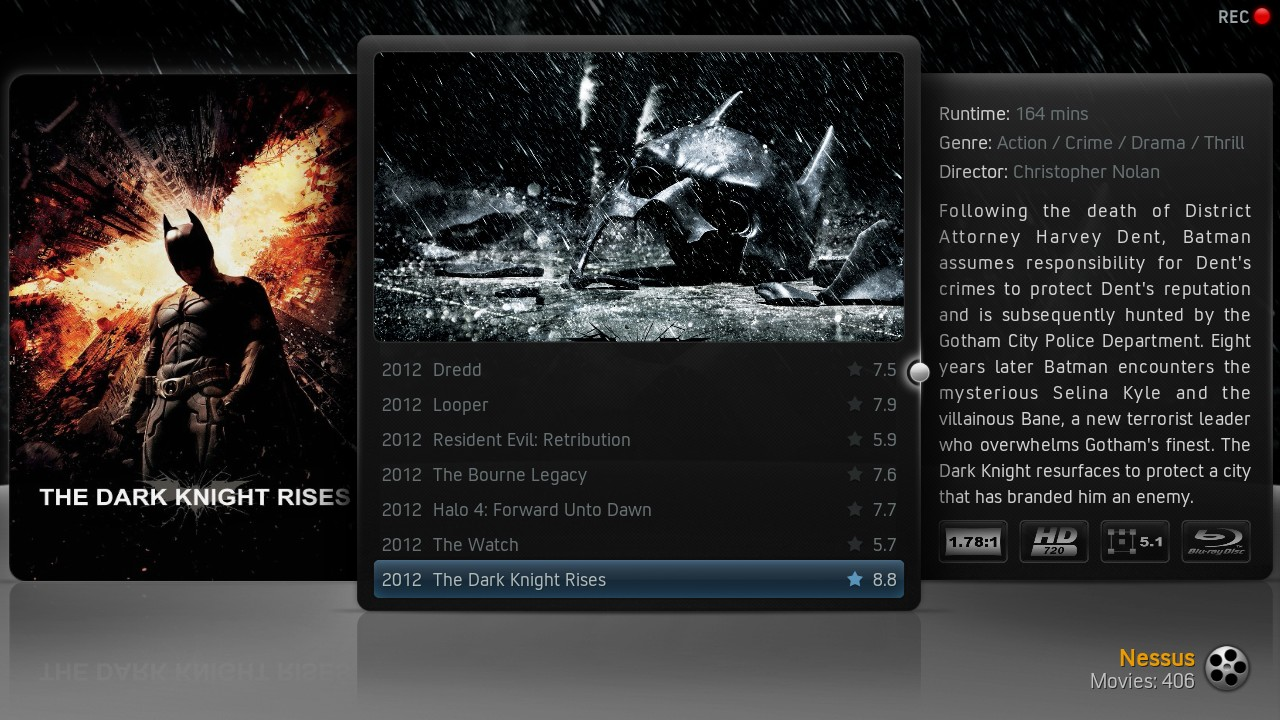 Kodi/XBMC skin: Xperience More by nessus