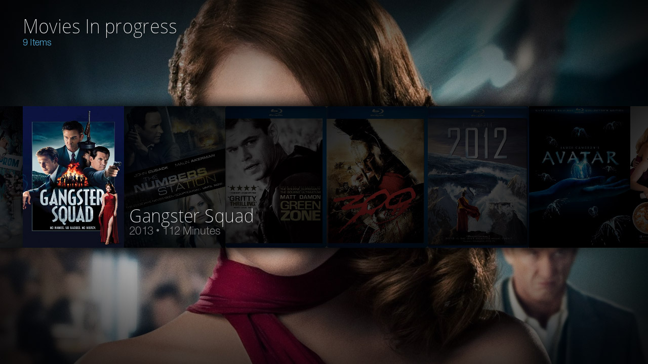Kodi/XBMC skin: Bello by Nessus