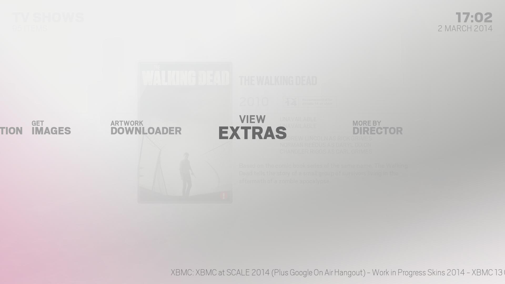 Kodi/XBMC skin: Alaska by Hitcher