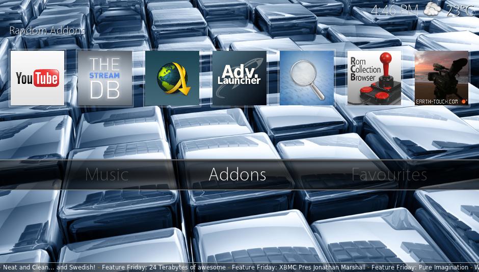 Kodi/XBMC skin: Cirrus Extended by butchabay