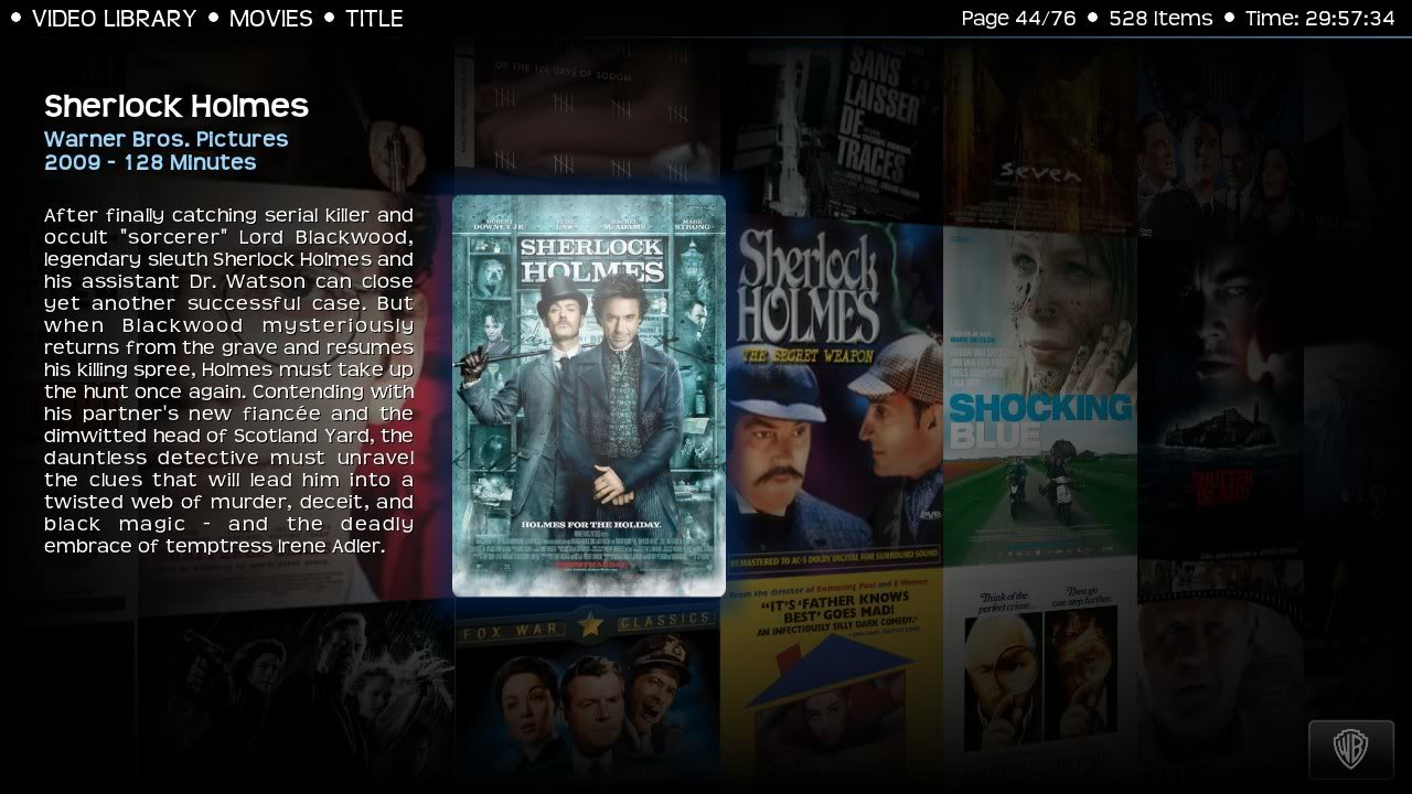 Kodi/XBMC skin: Transparency by ronie